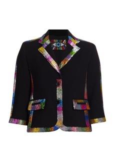 Libertine Electric Dreams Stretch-Wool Jacket