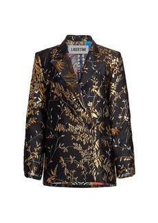 Libertine Beijing Garden Double-Breasted Jacquard Jacket