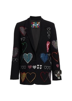 Libertine Heart Embellished Blazer