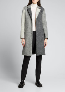 Libertine Colorblock Wool Blazer