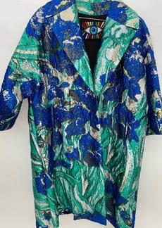 Libertine Van Goghs Irises Oversized Coat