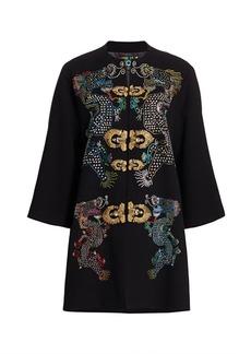 Libertine Magical Ming Embellished Dragon Opera Coat