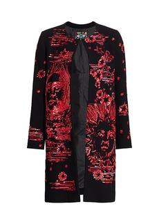 Libertine Paillette Modern Toile Sequin Coat
