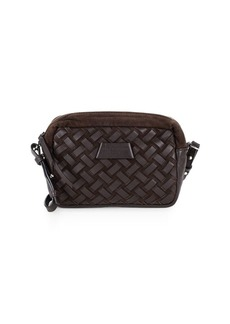Liebeskind Basket Weave Leather Crossbody Bag