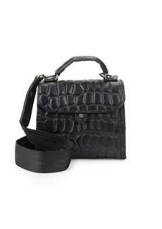 Liebeskind Embossed Leather Mini Bag