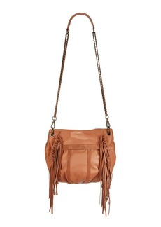 Liebeskind Berlin Danielle Fringed Suede and Leather Crossbody