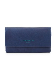 Liebeskind Fold-Over Leather Continental Wallet