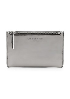 Liebeskind Glossy Metallic Leather Pouch