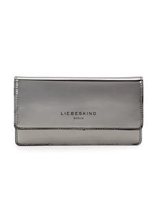 Liebeskind Glossy Metallic Leather Wallet