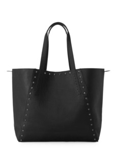 Liebeskind Reversible Camo Leather Tote