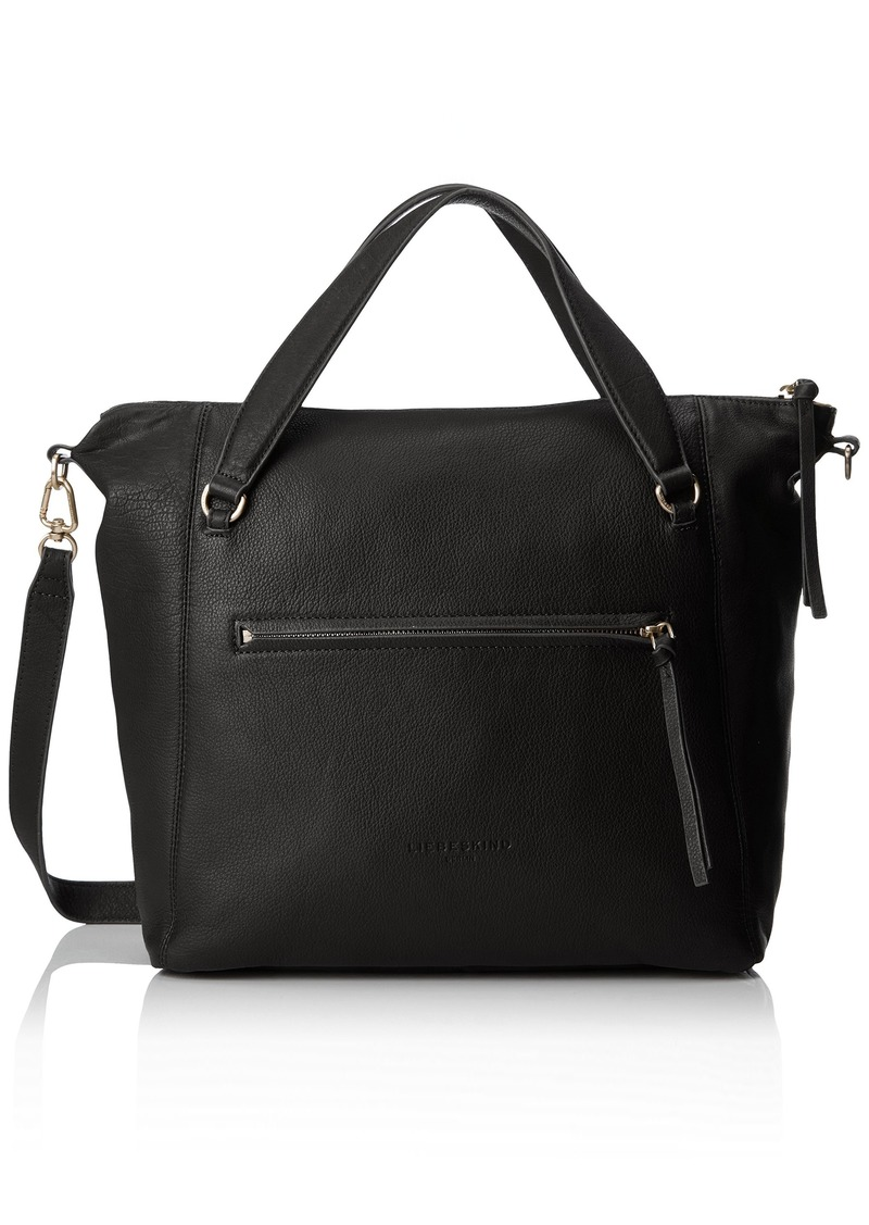 Liebeskind Berlin Women's Boweryf8 Leather Satchel with Front Pocket