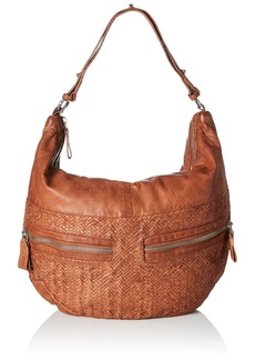 Liebeskind Berlin Women's California Handwoven Leather Hobo