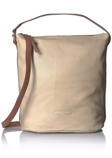 Liebeskind Berlin Women's Hallowell Leather Hobo with Ring Detail