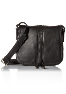 Liebeskind Berlin Women's Huntsville Leather Saddle Bag oil black