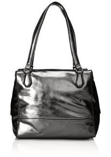 Liebeskind Berlin Women's Mesa Metallic Leather Shoulder Bag