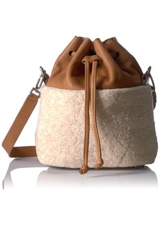 Liebeskind Berlin Women's Missisippi Shearling and Lambskin Bucket Bag