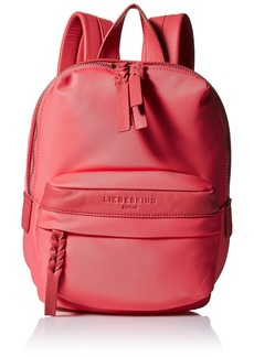 Liebeskind Berlin Women's Selby Nylon and Leather Mini Backpack coral pink