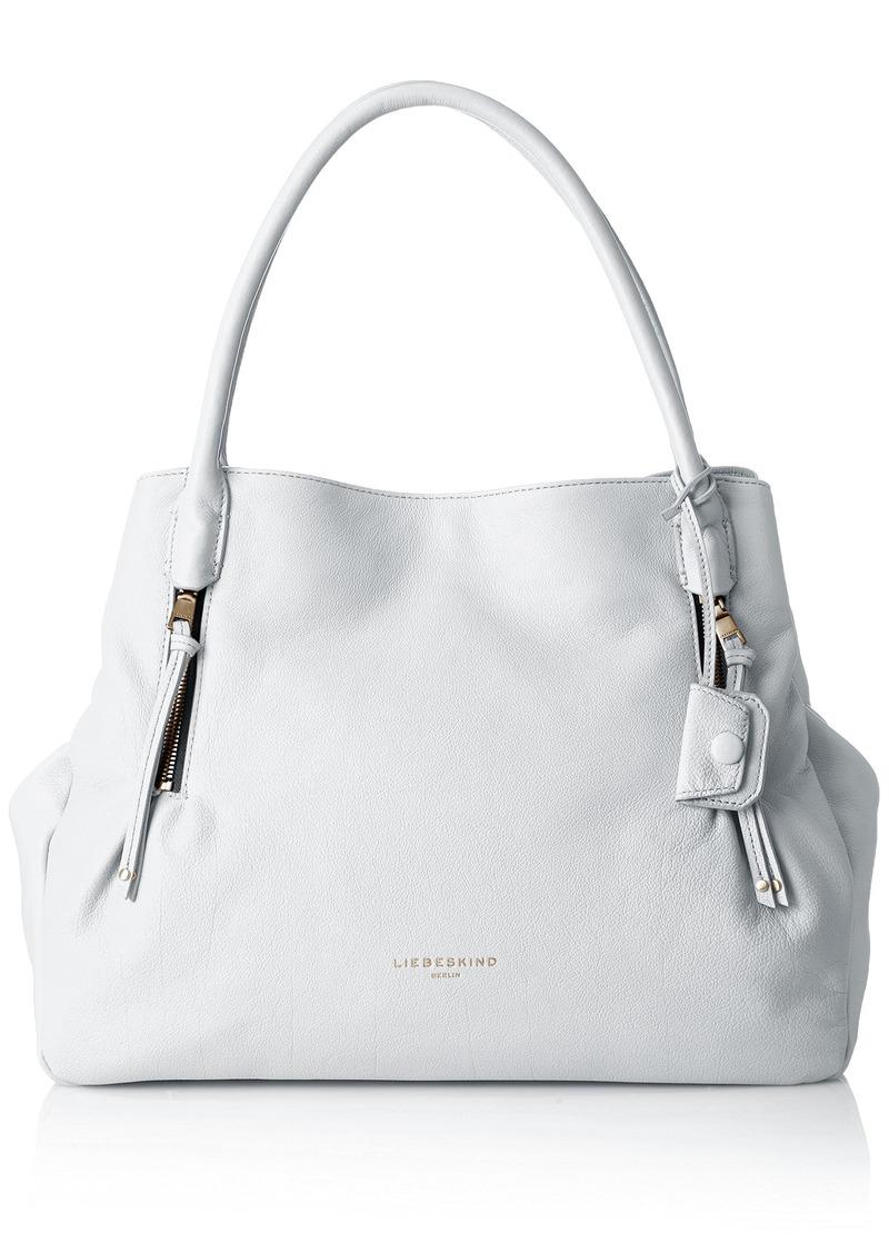 Liebeskind Berlin Women's Sierra Oversized Leather Satchel white
