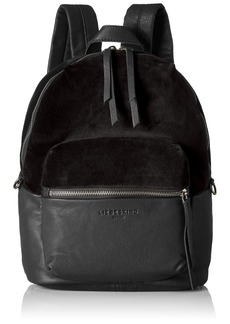 108111dff376 Liebeskind Berlin Women s Stanfordw7 Velvet and Leather Backpack