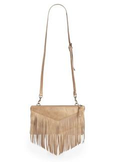 Liebeskind Carol Fringe Leather Crossbody Bag