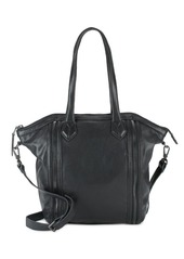Liebeskind Zip Front Leather Crossbody Bag