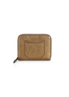 Liebeskind Textured Leather Zip-Around Wallet