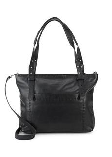 Liebeskind Top Zip Leather Crossbody Bag