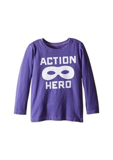 Life is good Action Hero Mask Long Sleeve Tee (Toddler)