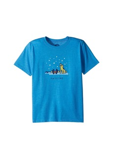 Life is good Awesome Jake and Rocket Cool Tee (Little Kids/Big Kids)