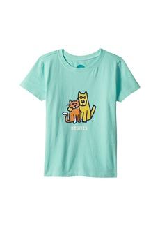 Life is good Besties Rocket and Cat Crusher Tee (Toddler)