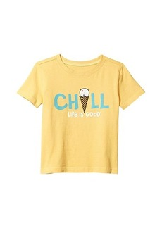 Life is good Chill Ice Cream Crusher Tee (Toddler)