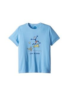 Life is good Dock Jump Crusher T-Shirt (Little Kids/Big Kids)