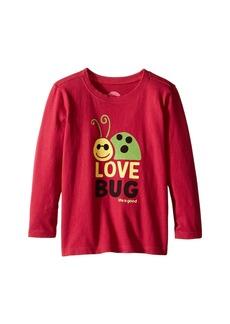 Life is good Elemental Love Bug Long Sleeve Tee (Toddler)