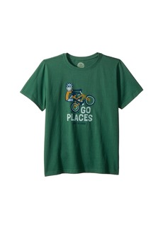 Life is good Go Places Bike Crusher T-Shirt (Little Kids/Big Kids)