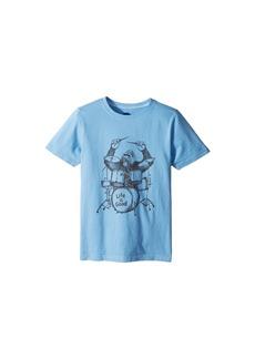 Life is good Gorilla Drumming Crusher Tee (Little Kids/Big Kids)