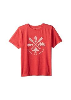 Life is good Great Outdoors Cool T-Shirt (Little Kids/Big Kids)