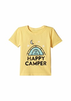 Life is good Happy Camper Tent Crusher™ Tee (Toddler)