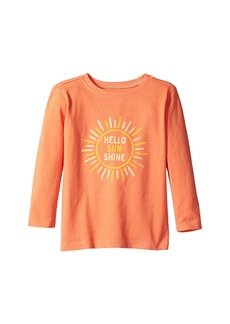 Life is good Hello Sunshine Long Sleeve Crusher Tee (Toddler)