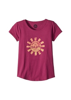Life is good Here Comes The Sun Smiling Smooth Tee (Little Kids/Big Kids)