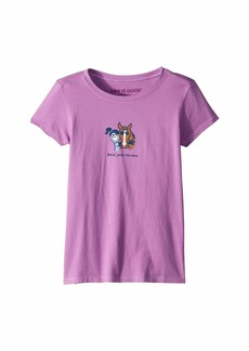 Life is good Hold Your Horses Crusher™ Tee (Little Kids/Big Kids)