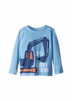 Life is good I Dig Everything Crusher T-Shirt Long Sleeve (Toddler)