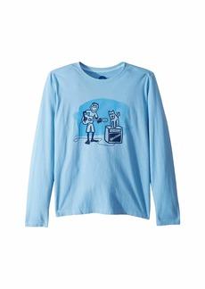 Life is good Jake and Rocket Acoustic Crusher T-Shirt Long Sleeve (Little Kids/Big Kids)