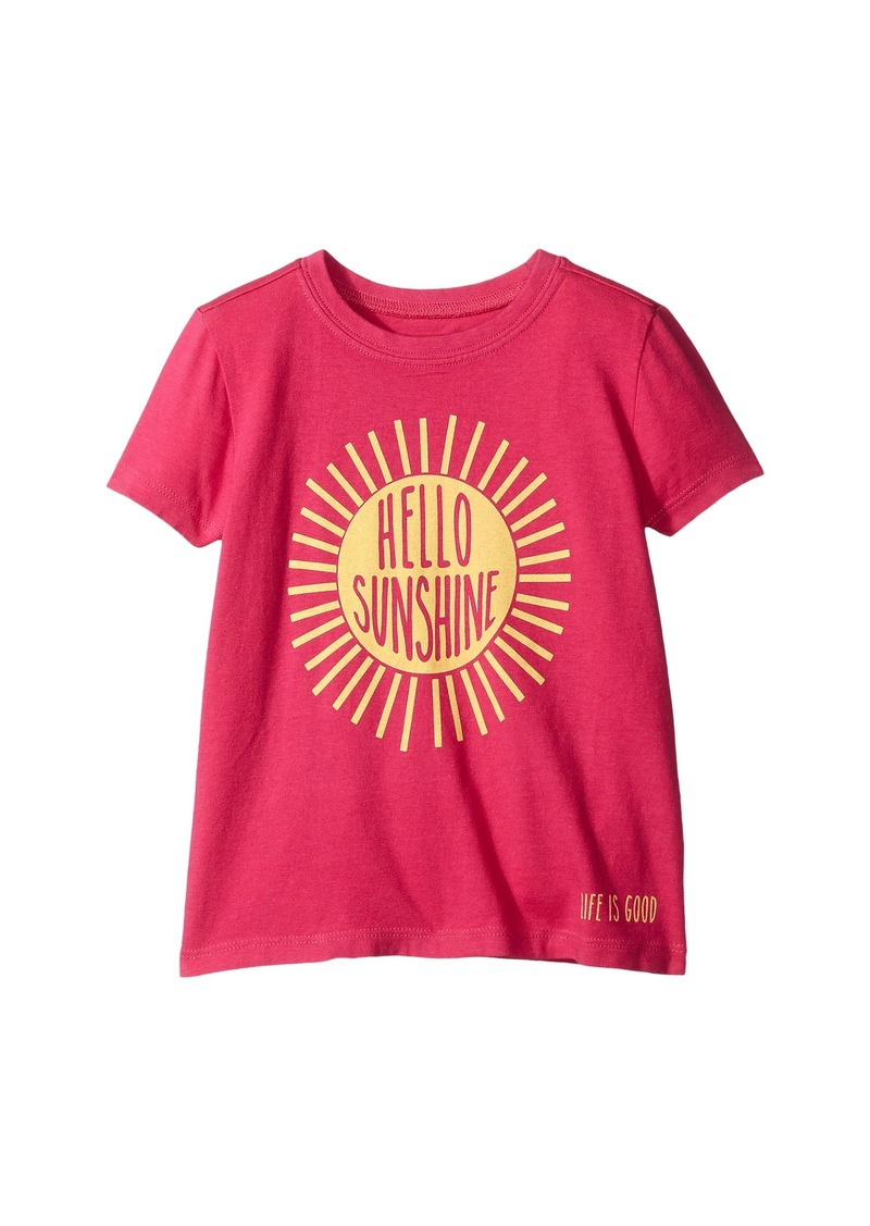 Life is good Kids Hello Sunshine Crusher™ Tee (Toddler)