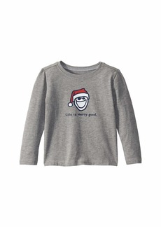 Life is good Life Is Merry Good Crusher Knit Tee (Toddler)