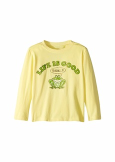 Life is good Life is Toadally Good Crusher T-Shirt Long Sleeve (Toddler)