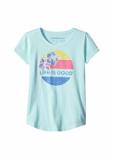 Life is good LIG Hibiscus Smiling Smooth Tee™ (Little Kids/Big Kids)