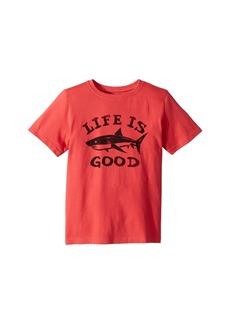 Life is good LIG Shark Crusher T-Shirt (Little Kids/Big Kids)