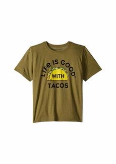 Life is good LIG with Tacos Cool™ Tee (Little Kids/Big Kids)