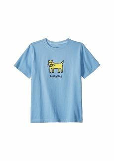 Life is good Lucky Dog Crusher™ Tee (Little Kids/Big Kids)