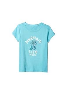 Mermaid Life is Good Crusher Tee (Little Kids/Big Kids)